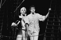 MUTINY! book: Richard Crane lyrics: Richard Crane & David Essex music: David Essex set design: William Dudley costumes: Ruth Myers lighting: Mark Henderson director: Michael Bogdanov <br> l-r: Frank...