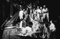 MUTINY! book: Richard Crane lyrics: Richard Crane & David Essex music: David Essex set design: William Dudley costumes: Ruth Myers lighting: Mark Henderson director: Michael Bogdanov <br> casting Bli...