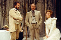 UNCLE VANYA by Anton Chekhov in a new translation by Michael Frayn design: Tanya McCallin lighting: Mick Hughes director: Michael Blakemore <br> l-r: Jonathan Pryce (Doctor Astrov), Michael Gambon (Va...
