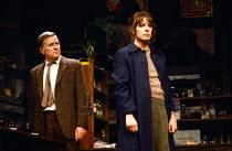TISHOO by Brian Thompson design: John Gunter lighting: Brian Harris director: Ronald Eyre <br> Alec McCowen (Dr. Frank Merrick), Penelope Wilton (Barbara) Wyndham's Theatre, London WC2 24/10/1979 (c)...