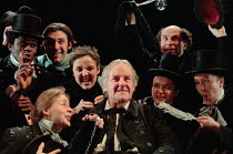 A CHRISTMAS CAROL by Charles Dickens adapted & directed by Neil Bartlett  design: Rae Smith  lighting: Paule Constable <br> Richard Briers (Ebenezer Scrooge) Lyric Theatre Hammersmith, London W6 18/1...