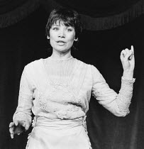 SHAKESPEARE LADY compiled by Estelle Kohler directed by Bill Homewood <br> Estelle Kohler (Fanny Kemble) King's Head Theatre Club, London N1 15/01/1980 (c) Donald Cooper/Photostage photos@photostage.c...