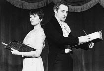 SHAKESPEARE LADY compiled by Estelle Kohler directed by Bill Homewood <br> Estelle Kohler (Fanny Kemble), Bill Homewood King's Head Theatre Club, London N1 15/01/1980 (c) Donald Cooper/Photostage phot...