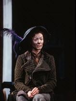PYGMALION by George Bernard Shaw design: William Dudley lighting: Mark Henderson director: Howard Davies <br> Frances Barber (Eliza Doolittle) Olivier Theatre, National Theatre (NT), London SE1 09/04/...
