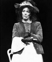 PYGMALION by George Bernard Shaw set design: Carl Toms costumes: Bob Ringwood lighting: John B Read director: Denise Coffey <br> Lesley-Anne Down (Eliza Doolittle) The Young Vic, London SE1 21/01/19...