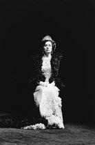 PYGMALION by George Bernard Shaw set design: Carl Toms costumes: Bob Ringwood lighting: John B Read director: Denise Coffey <br> after the ambassador's garden party, still dressed as a duchess: Lesle...
