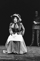 PYGMALION by George Bernard Shaw set design: Carl Toms costumes: Bob Ringwood lighting: John B Read director: Denise Coffey <br> Lynda Bellingham (Eliza Doolittle) The Young Vic, London SE1 06/03/19...