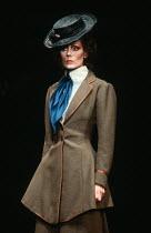 PYGMALION by George Bernard Shaw set design: Carl Toms costumes: Christine Rowland lighting: John B Read director: Denise Coffey <br> Lorraine Chase (Eliza Doolittle) The Young Vic, London SE1 18/08...