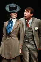 PYGMALION by George Bernard Shaw set design: Carl Toms costumes: Christine Rowland lighting: John B Read director: Denise Coffey <br> Lorraine Chase (Eliza Doolittle), Richard Easton (Henry Higgins)...