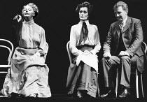 PYGMALION by George Bernard Shaw set design: Carl Toms costumes: Christine Rowland lighting: John B Read director: Denise Coffey <br> l-r: Betty Marsden (Mrs Higgins), Lorraine Chase (Eliza Doolittle...