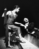 DRACULA by Bram Stoker dramatised by Hamilton Dean & John L Balderston design: Jane Ripley lighting: Graham Large director: Alan Dossor <br> Tracey Ullman (Lucy Seward), Robin Hooper (Count Dracula) T...