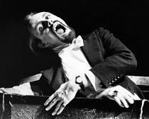 DRACULA by Bram Stoker dramatised by Hamilton Dean & John L Balderston design: Jane Ripley lighting: Graham Large director: Alan Dossor <br> Robin Hooper (Count Dracula) The Young Vic, London SE1 04/1...