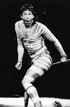 TRICKSTER'S LAST THROW by Tim Thomas costume design: Linda Haslam lighting: Dean Williams director: David Henry <br> Tim Thomas (Trickster) The Young Vic, London SE1 11/1981 (c) Donald Cooper/Photosta...
