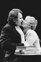 GHOSTS by Henrik Ibsen design: Shelagh Keegan lighting: Paul Denby director: David Thacker <br> Tom Wilkinson (Paster Manders), Vanessa Redgrave (Mrs Alving) The Young Vic, London SE1 07/10/1986 (c) D...