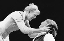 GHOSTS by Henrik Ibsen design: Shelagh Keegan lighting: Paul Denby director: David Thacker <br> Vanessa Redgrave (Mrs Alving), Adrian Dunbar (Oswald Alving)  The Young Vic, London SE1 07/10/1986  (...