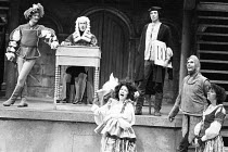 THE HUNCHBACK OF NOTRE DAME adapted by Ken Hill from the novel by Victor Hugo director: Michael Bogdanov <br> the company The Young Vic, London SE1 12/1979 (c) Donald Cooper/Photostage photos@photosta...