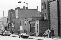 exterior of the Young Vic theatre in The Cut, London SE1 1978 <br> (c) Donald Cooper/Photostage photos@photostage.co.uk ref/BW-N-281-33