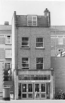 exterior of the Young Vic theatre in The Cut, London SE1 1978 <br> (c) Donald Cooper/Photostage photos@photostage.co.uk ref/BW-N-281-37