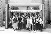 members of the Young Vic YVES programme <br> youth & community theatre, educational outreach The Young Vic, London SE1 1978 (c) Donald Cooper/Photostage photos@photostage.co.uk ref/BW-N-245-26