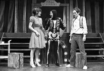 Fiona Victory, Micky O;Donoughue and Chris Barnes in FAYRE PLAY <br> part of The Young Vic Education Service (YVES) programme in 1978 (c) Donald Cooper/Photostage photos@photostage.co.uk ref/BW-N-20...