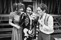 Fiona Victory, Micky O'Donoughue and Chris Barnes in FAYRE PLAY <br> part of The Young Vic Education Service (YVES) programme in 1978 (c) Donald Cooper/Photostage photos@photostage.co.uk ref/BW-N-20...
