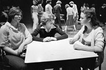 school workshop in 1978 <br> part of The Young Vic Education Service (YVES) programme (c) Donald Cooper/Photostage photos@photostage.co.uk ref/BW-N-231-B-4