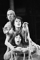 THE DUCHESS OF MALFI by John Webster design: Karen Roston director: Nancy Meckler <br>front: Dinah StabbFreehold Theatre Company / Young Vic, London SE1 06/10/1970(c) Donald Cooper/Photostage photos@p...