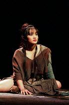 Joanna Ampil (Mary Magdalene) in JESUS CHRIST SUPERSTAR at the Lyceum Theatre, London WC2 19/11/1996 music: Andrew Lloyd Webber lyrics: Tim Rice design: John Napier director: Gale Edwards