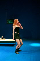 Nicole Kidman in THE BLUE ROOM by David Hare at the Donmar Warehouse, London WC2 22/09/1998  freely adapted from 'Der Reigen' by Arthur Schnitzler design: Mark Thompson lighting: Hugh Vanstone dir...