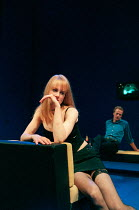 Nicole Kidman, Iain Glen in THE BLUE ROOM by David Hare at the Donmar Warehouse, London WC2 22/09/1998  freely adapted from 'Der Reigen' by Arthur Schnitzler design: Mark Thompson lighting: Hugh V...