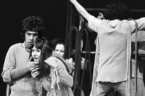 THE DUCHESS OF MALFI by John Webster design: Karen Roston director: Nancy Meckler <br> left: Stephen Rea, Dinah Stabb Freehold Theatre Company / Young Vic, London SE1 06/10/1970 (c) Donald...