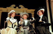AN IDEAL HUSBAND by Oscar Wilde design: Carl Toms lighting: Joe Atkins director: Peter Hall <br> l-r: Penny Downie (Lady Chiltern), Dulcie Gray (Lady Markby), Anna Carteret (Mrs Cheveley) a Pe...