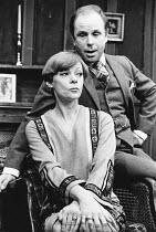 ON APPROVAL by Frederick Lonsdale design: Alix Stone director: Frank Hauser <br> Geraldine McEwan (Maria Wislack), Edward Hardwicke (Richard Halton)  Haymarket Theatre, London SW1 16/12/1975 &...