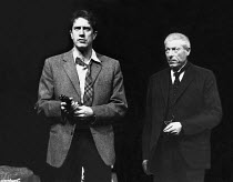 I HAVE BEEN HERE BEFORE by J.B. Priestley design: Norman Coates lighting: Kevin Sleep director: Matthew Francis <br> l-r: Brian Protheroe (Walter Ormund), John Woodvine (Dr Gortler)  Palace Th...