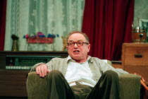 ENJOY by Alan Bennett design: Lez Brotherston lighting: Mark Ridler director: Jeremy Sams <br> James Bolam (Wilfred Craven / Dad) Nottingham Playhouse, Nottingham, England 22/04/1995  (c)...