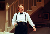 GETTING ON by Alan Bennett design: Douglas Heap lighting: Leonard Tucker director: Roger Smith <br> Clive Francis (George Oliver) Palace Theatre, Watford, England 10/10/1990  (c) Donald Co...