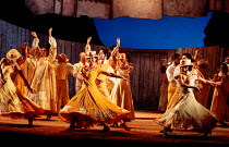 DON QUIXOTE by Massenet conductor: Emmanuel Joel set design: John Gunter costumes: Deirdre Clancy lighting: Simon Tapping choreography: Lindsay Dolan director: Ian Judge <br> Flamenco dancers ...