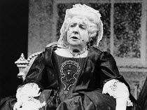 RESTORATION written & directed by Edward Bond design: Hayden Griffin & Gemma Jackson lighting: Rory Dempster <br>  Irene Handl (Old Lady Are)  Royal Court Theatre, London SW1 21/07/1981 (c...