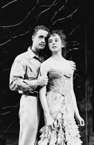 Michael Ball (Alex Trapani), Diana Morrison (Jenny Dillingham) in ASPECTS OF LOVE at the Prince of Wales Theatre, London W1 17/04/1989  music & book by Andrew Lloyd Webber lyrics: Don Black & Char...