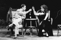 Michael Ball (Alex Trapani), Ann Crumb (Rose Vibert) in ASPECTS OF LOVE at the Prince of Wales Theatre, London W1 17/04/1989  music & book by Andrew Lloyd Webber lyrics: Don Black & Charles Hart d...