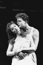 Ann Crumb (Rose Vibert), Michael Ball (Alex Trapani) in ASPECTS OF LOVE at the Prince of Wales Theatre, London W1 17/04/1989  music & book by Andrew Lloyd Webber lyrics: Don Black & Charles Hart d...