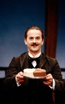 Trevor Eve (Paolino) in MAN, BEAST AND VIRTUE by Luigi Pirandello at the Cottesloe Theatre, National Theatre (NT), London 07/09/1989  in a new version by Charles Wood design: Annie Smart lighting:...