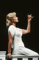 Susan Hampshire (Gertie) in NOEL AND GERTIE at the Duke of York's Theatre, London WC2 11/1991  devised by Sheridan Morley design: Carl Toms lighting: Leonard Tucker choreography: Eleanor Fazan dir...