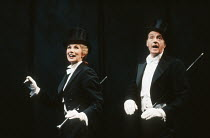Susan Hampshire (Gertie), Edward Petherbridge (Noel) in NOEL AND GERTIE at the Duke of York's Theatre, London WC2 11/1991  devised by Sheridan Morley design: Carl Toms lighting: Leonard Tucker cho...