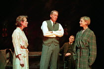 l-r: Jessica Turner (Helen), Charles Dance (Halder), Ian Gelder (Maurice), Emilia Fox (Anne) in GOOD by C P Taylor at the Donmar Warehouse, London WC2  23/03/1999  design: Christopher Oram lightin...