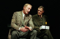 l-r: Charles Dance (Halder), Ian Gelder (Maurice) in GOOD by C P Taylor at the Donmar Warehouse, London WC2  23/03/1999  design: Christopher Oram lighting: Hartley T A Kemp director: Michael Grand...