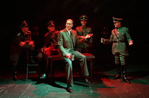 centre: Charles Dance (Halder) in GOOD by C P Taylor at the Donmar Warehouse, London WC2  23/03/1999  design: Christopher Oram lighting: Hartley T A Kemp director: Michael Grandage