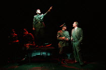 centre: John Ramm (Adolf Hitler) far right: Charles Dance (Halder) in GOOD by C P Taylor at the Donmar Warehouse, London WC2  23/03/1999  design: Christopher Oram lighting: Hartley T A Kemp direct...