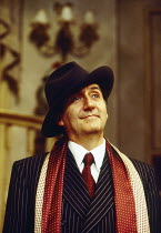Tom Conti (Gary Essendine) in PRESENT LAUGHTER by Noel Coward at the Globe Theatre, London W1 23/06/1993  design: Terry Parsons lighting: Mark Pritchard director: Tom Conti