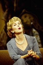 Susan Hampshire (Felicity Countess of Marchwood) in RELATIVE VALUES by Noel Coward at the Savoy Theatre, London WC2 08/11/1993  a Chichester Festival Theatre production design: Rob Howell lighting...
